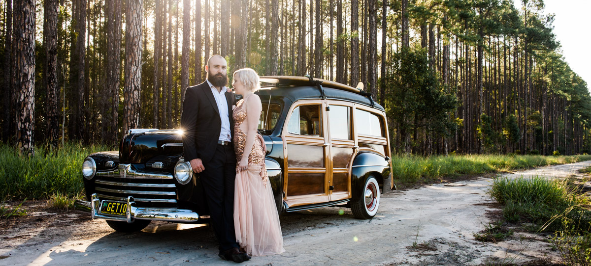 Montville Maleny Wedding Car Hire and Transport Services