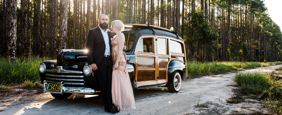 Montville Maleny Wedding Car Hire and Airport Transfers from Noosa Woody hire