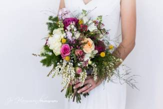 Bridal bouquets and wedding flowers for Montville Maleny weddings.