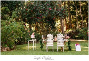 Wedding venue and reception at Montville Country Cabins